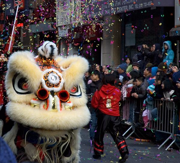 chinese new year parade 2