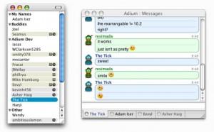 AdiumX Screenshot