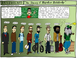 Theory of Hipster Relativity