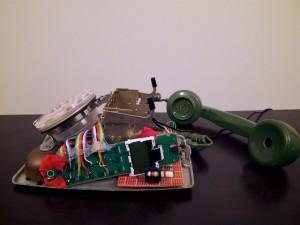 Rotary Cordless Phone