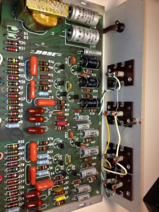 Bose 901 EQ board before