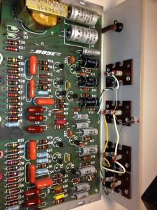 Bose 901 EQ board before