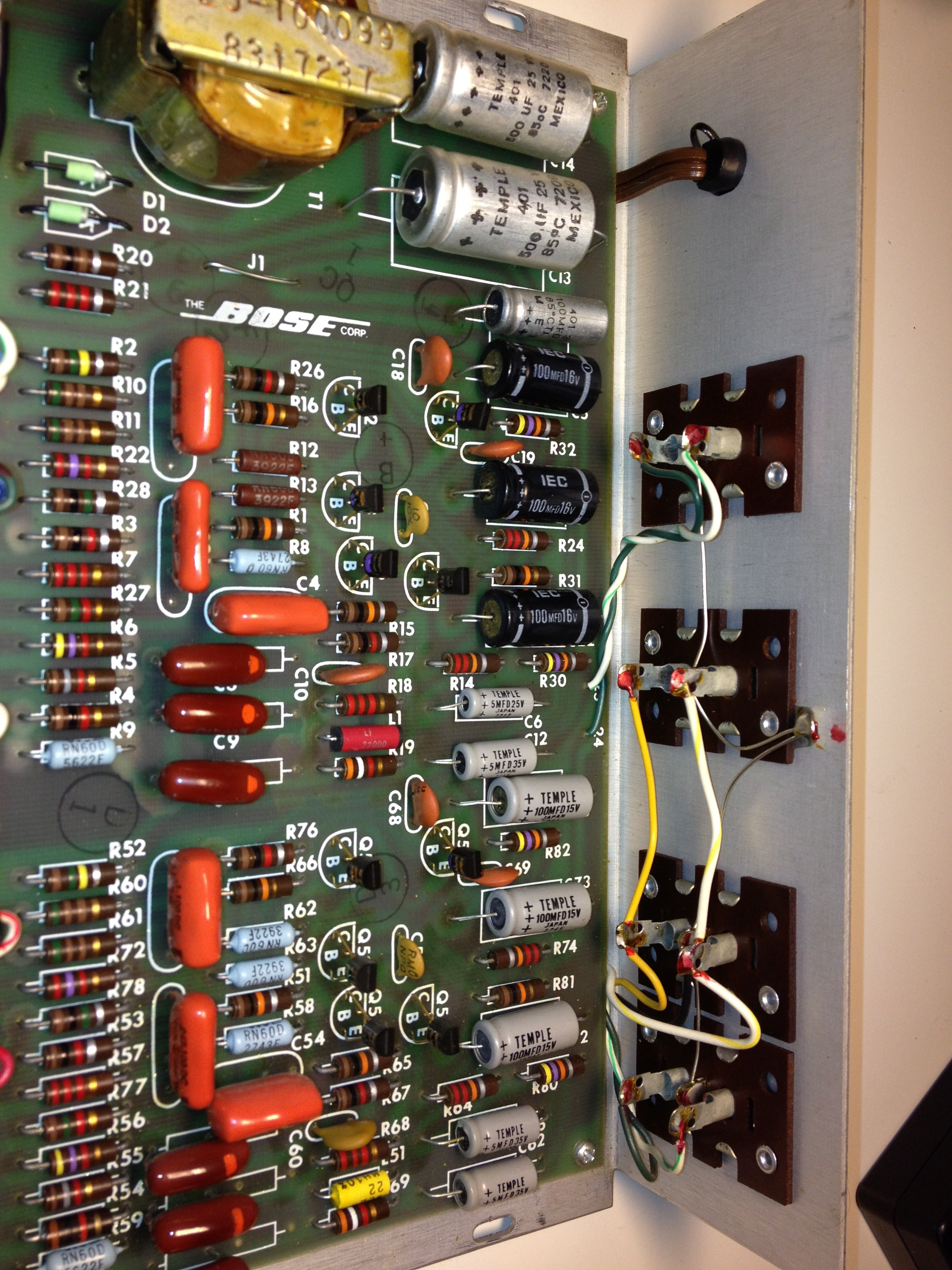 before bose 901 equalizer repair jpreardon com bose 901 series iv wiring diagram at cos-gaming.co