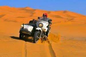 Hubert in the desert