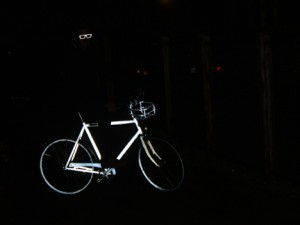 Retroreflective Bike