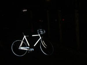 Retroreflective Bike