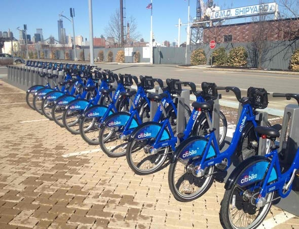 NYC Bike Share Double Rack
