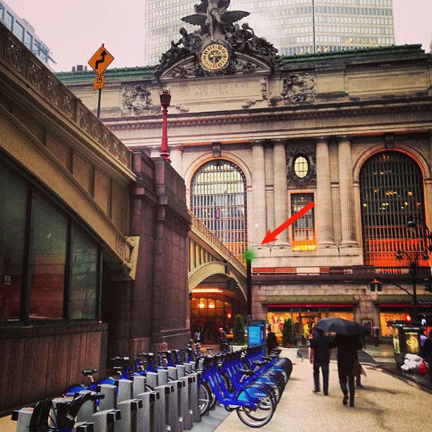 Bike Share Station Status Light