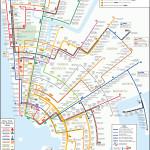 Circular Subway Map