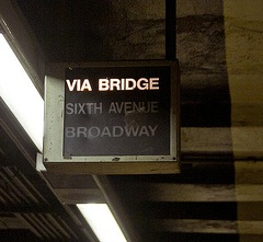 Dekalb Subway Sign