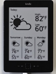 Kindle Weather Display