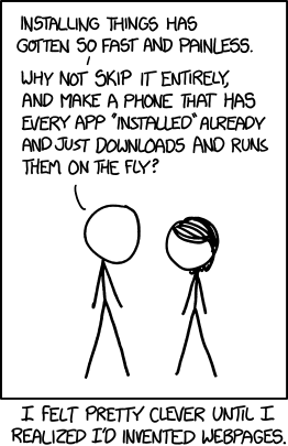 XKCD: Installing