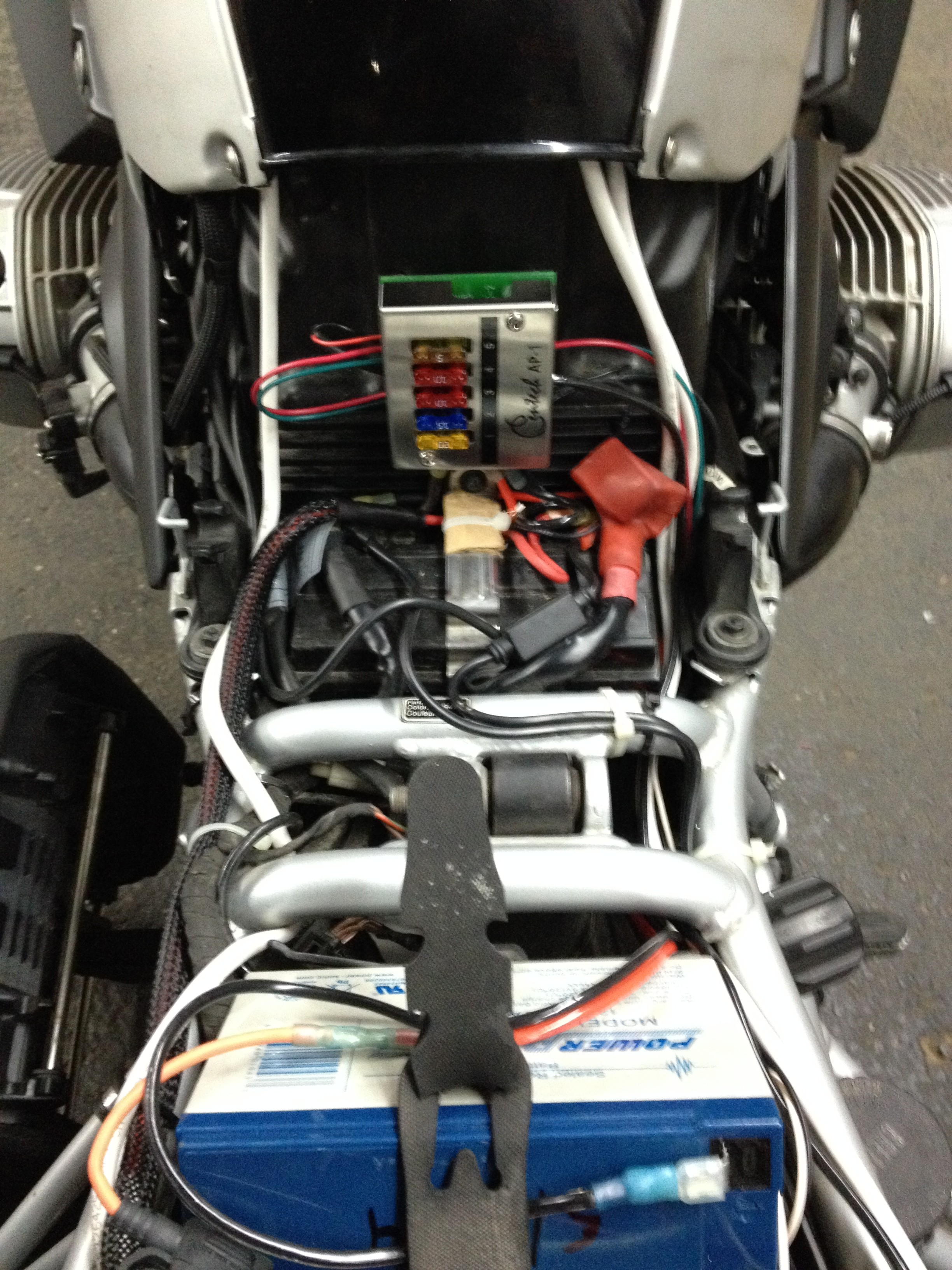 BMW 1200GS Auxiliary Battery and Lighting – jpreardon.com | Bmw Gs 1200 Fuse Box |  | jpreardon.com