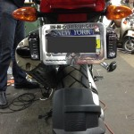1200GS License Plate Lights