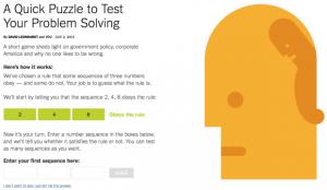 Problem Solving Puzzle Graphic