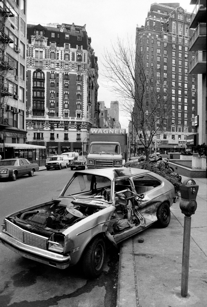 NYC Abandoned Car