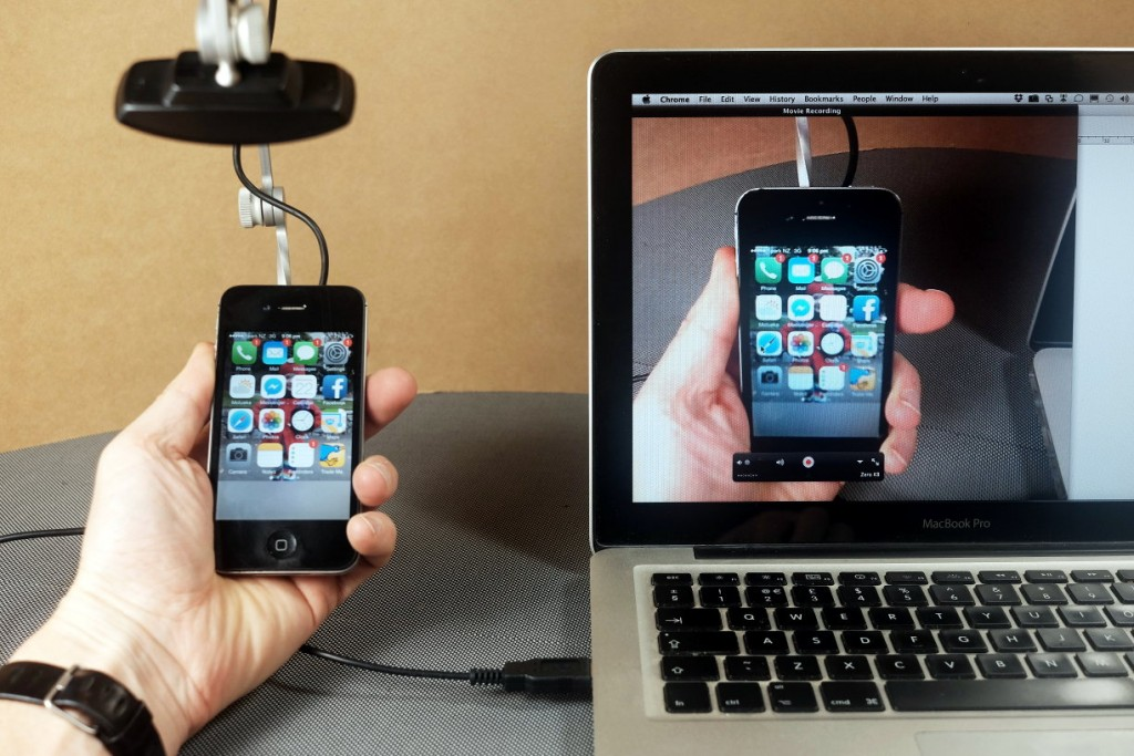 Photo of Mr. Tappy Mobile Usability Testing