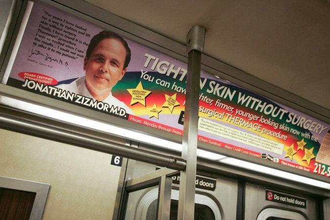Dr. Zizmore Subway Ad