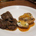 Catalan Beef Stew with Mushrooms, Patatas Bravas