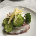 Octopus and Cucumber Salad