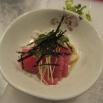 Tuna with Ginger Sauce