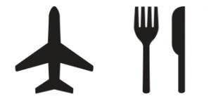 Airport Food Symbol