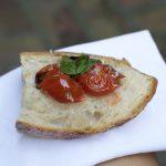 Cherry Tomato Confit Bruschetta