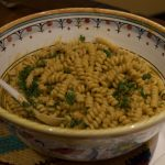 Fusilli bucati with Pesto Trapanese