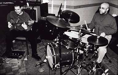 Charlie Hunter and Leon Parker Circa 1999